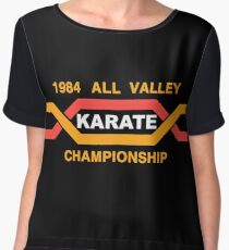 ALL VALLEY KARATE CHAMPIONSHIP 1984 Women's Chiffon Top