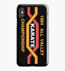 ALL VALLEY KARATE CHAMPIONSHIP 1984 iPhone Case/Skin