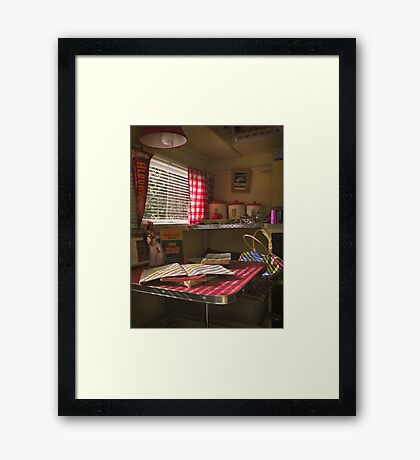 the things that I used to do Framed Print