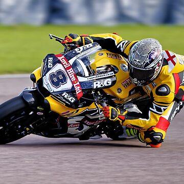 British Superbike Rider Shaun Winfield by AndyHkr