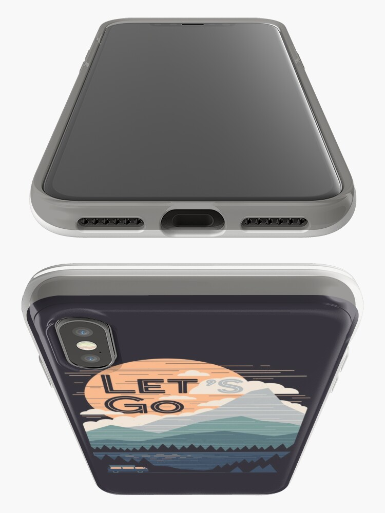 Alternate view of Let's Go iPhone Cases & Covers