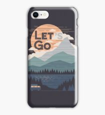 Let's Go iPhone Case/Skin