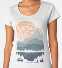 Let's Go Women's Premium T-Shirt