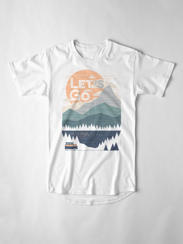 Alternate view of Let's Go Long T-Shirt