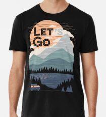 Let's Go Men's Premium T-Shirt