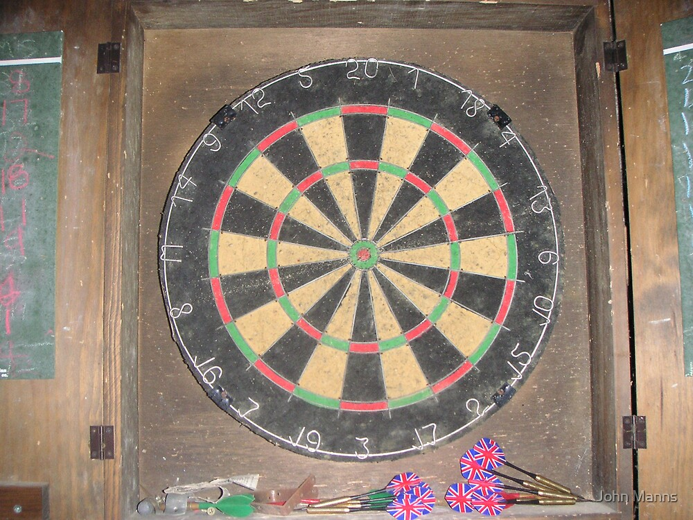 Dart Board by Johnnie