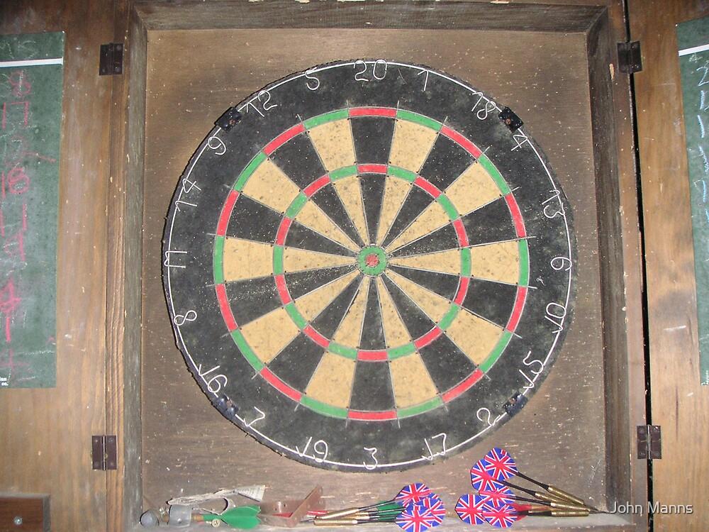 Dart Board by John Manns