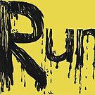 Run. aka. Inktober 2017 Day 11 by lwcomic