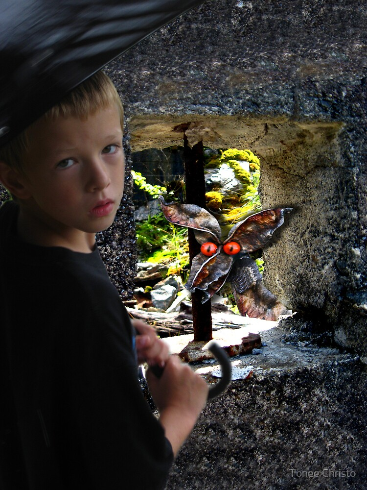 A Boy and His Dragon by Tonee Christo