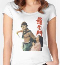 Rashomon - vintage Women's Fitted Scoop T-Shirt