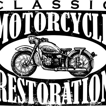 Classic Motorcycle Restoration by btphoto