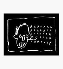 Basquiat - AAAA Photographic Print