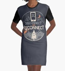 Reconnect Graphic T-Shirt Dress