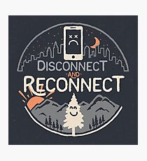 Reconnect Photographic Print