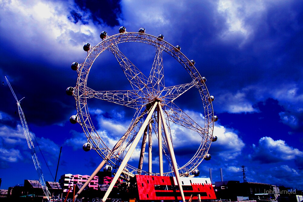 Finished Eye by JohnArnold