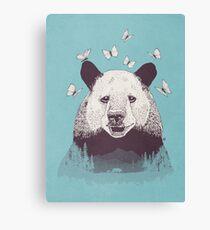 Let's Bear Friends Canvas Print