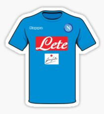 Napoli shirt Sticker