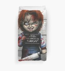Chucky from Childs play Duvet Cover