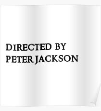 Directed by Peter Jackson Poster