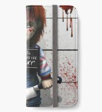 Childs von Chucky spielen iPhone Flip-Case/Hülle/Klebefolie