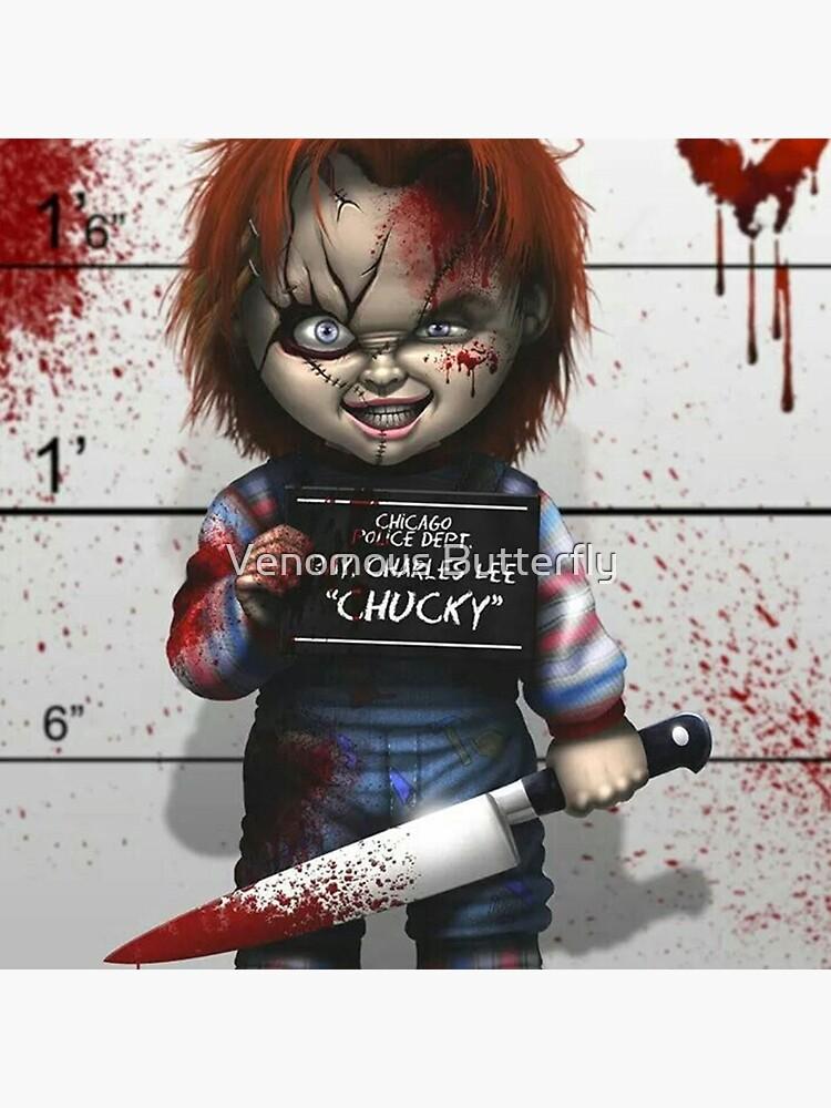 Chucky from Childs play de lavirgen