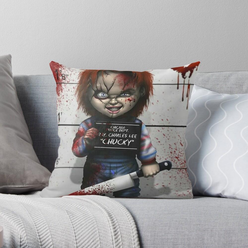 Chucky from Childs play Cojín