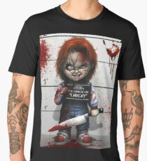 Chucky from Childs play Men's Premium T-Shirt