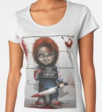 Chucky from Childs play Women's Premium T-Shirt