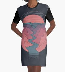 Canyon River Graphic T-Shirt Dress