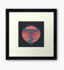 Canyon River Framed Print