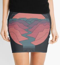 Canyon River Mini Skirt