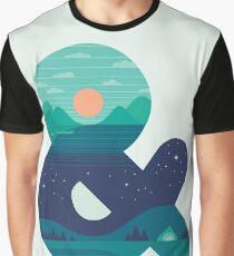 Day & Night Graphic T-Shirt
