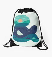 Day & Night Drawstring Bag