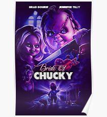 Chucky's bride Poster