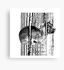 Rabbitiger #redbubble #decor #buyart #artprint Canvas Print