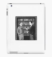 Sherlock Holmes #3 Inktober 2017 Canon Illustration (A Study in Scarlet) iPad Case/Skin