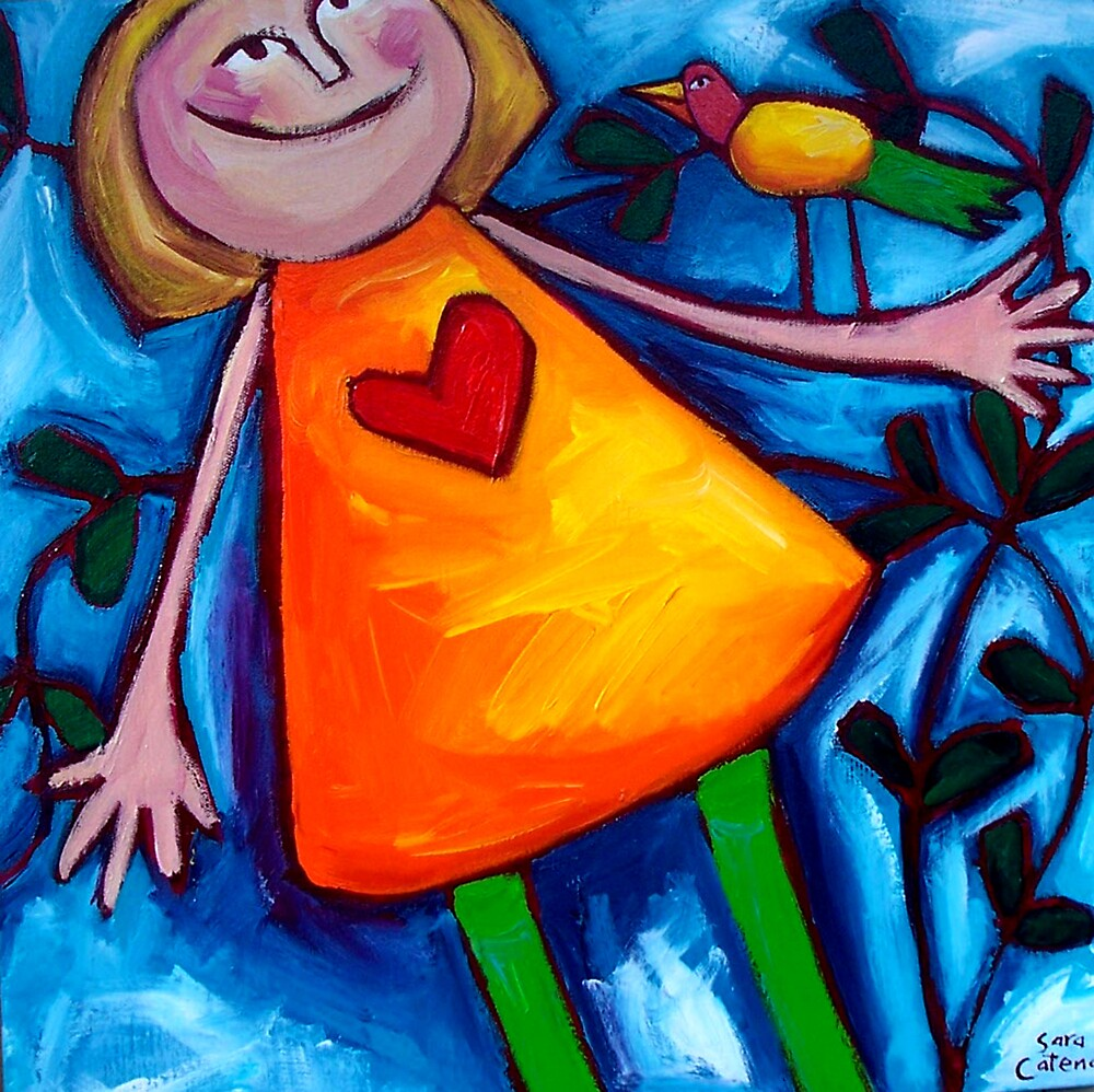 LIZZIE  AND  THE  LOVEBIRD by Sara Catena