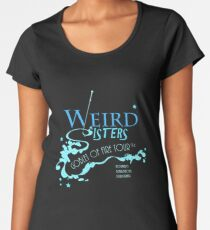 The Weird Sisters Goblet of Fire Tour '94 blue Women's Premium T-Shirt