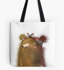 Bear with Me | Solo Gladys Bear | Whimsical Tote Bag