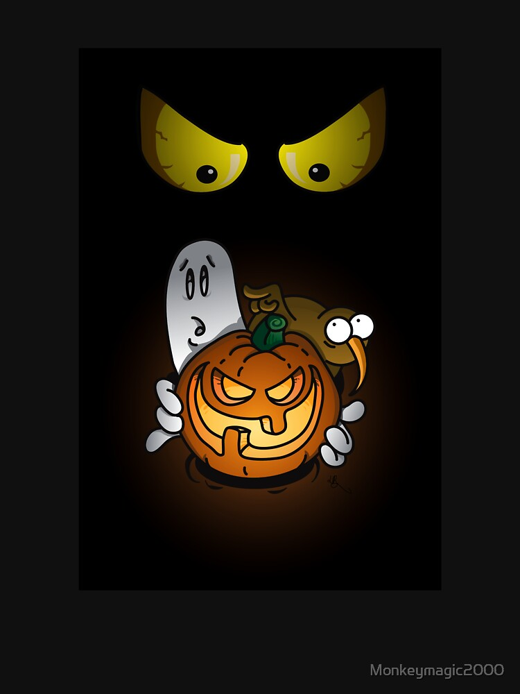 Moon Ghost Halloween Spooktactular by Monkeymagic2000