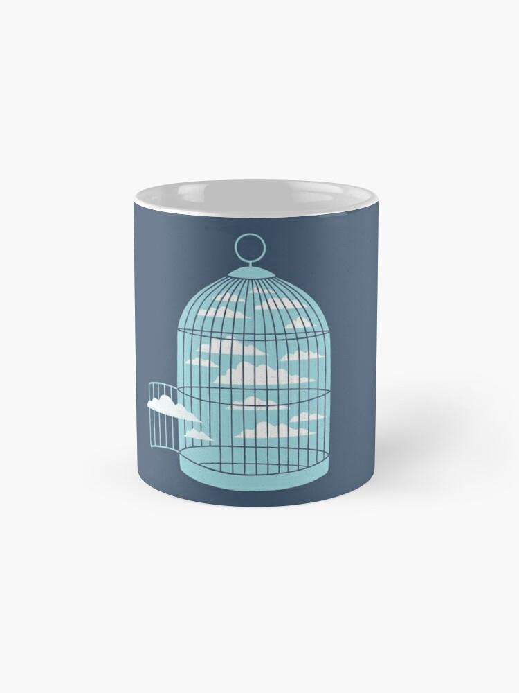 Alternative Ansicht von Frei wie ein Vogel Tasse