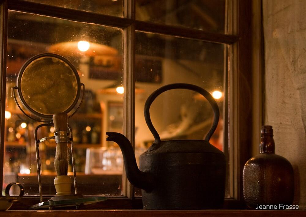Pub Window by Jeanne Frasse