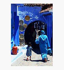 The Blue City II Photographic Print