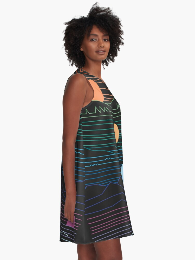 Alternate view of Many Lands Under One Sun A-Line Dress