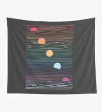 Many Lands Under One Sun Wall Tapestry
