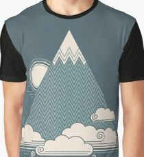 Cloud Mountain Graphic T-Shirt