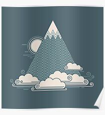 Cloud Mountain Poster
