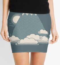 Cloud Mountain Mini Skirt