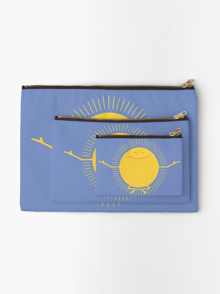 Alternate view of Sun Worshipper Zipper Pouch