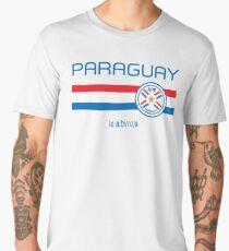 Football - Paraguay (Home Red) Men's Premium T-Shirt